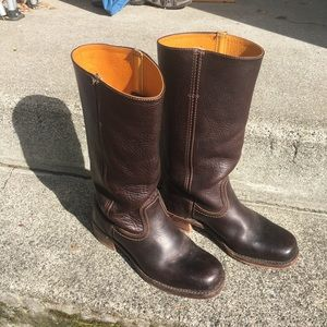 Boots Frye 8.5 Brown Campus